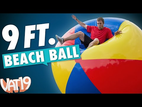 Biggest Beach Ball You've Ever Seen!