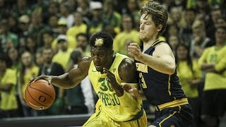 Highlights: No. 11 Oregon men's basketball powers past Cal for 15th straight win, tying...