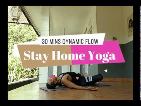 30 Minutes Dynamic Yoga Flow Youtube