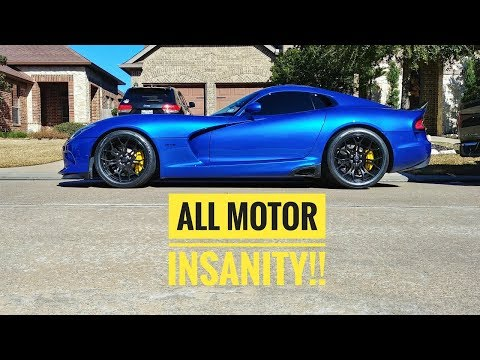 INSANE sounds, Heads/Cam Viper 750HP NA BEAST!
