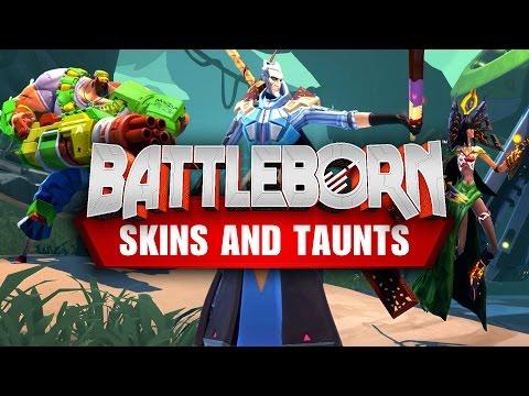 Tier 3 'Summer Fun' Skins & New Taunts for Battleborn