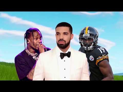 WHEN CELEBRITIES PLAY FORTNITE! (Drake & Ninja, Tfue, Lil Yachty)