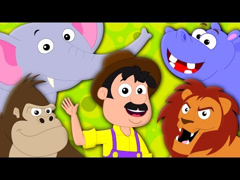 Old MacDonald Had A Zoo | Original Nursery Rhymes For Kids | Baby Songs | Kids Tv Nursery Rhymes