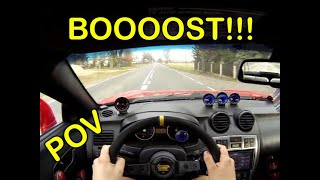 TIBURON TURBO 2.0  POV, test drive, pure driving, turbo sound
