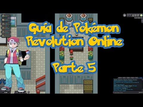 Guía de Pokémon Revolution Online - Parte 5 / Guarida del equipo rocket en el casino / 4ta Medalla