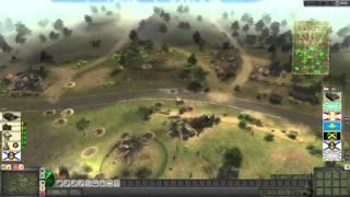 Men of War: Cold War. Сетевой бой \ Россия vs США\ часть 8