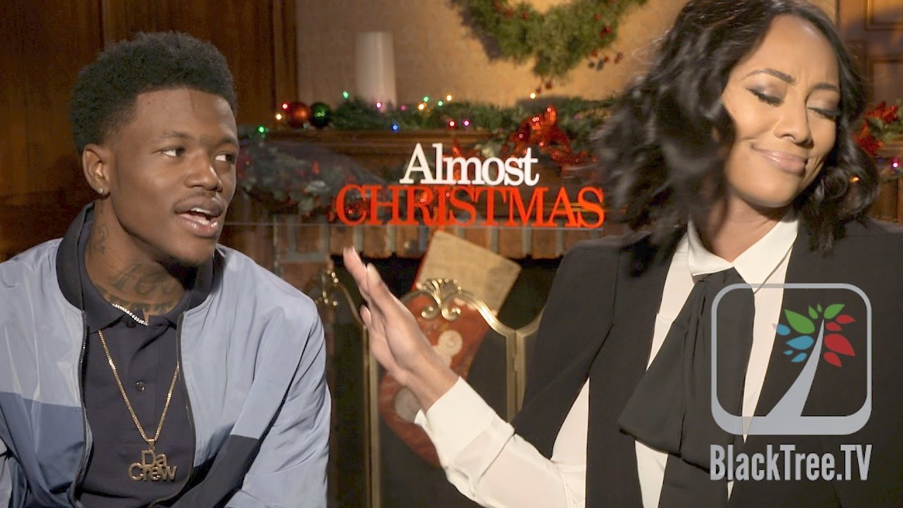 DC Young Fly and Keri Hilson Almost Christmas Interview - YouTube