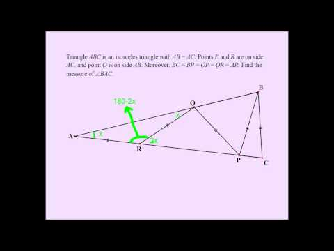 A Challenging Geometry Problem for Middle Grades Students