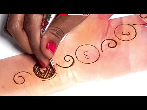 Simple Trick Arabic Henna  - Latest Easy Mehndi Design for Hands 2019