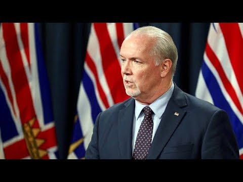 B.C. premier says economy is still on the right track after one year