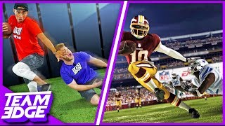 Madden NFL 18 In Real Life Challenge!