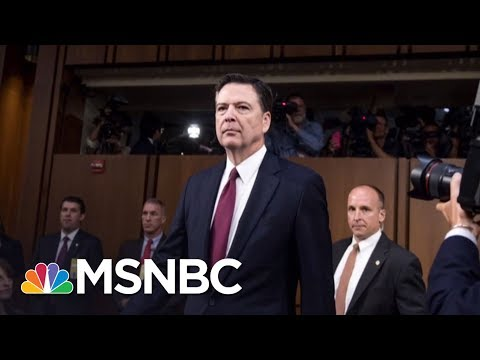 James Comey Memoir: President Trump Wanted To Disprove Lewd Dossier Allegations | Hardball | MSNBC