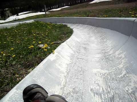 Alpine Slide Breckenridge.