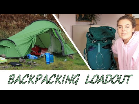 Backpacking Gear Loadout | Hiking Scotland