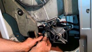 Самостоятельный ремонт стиральной машины, замена щеток на двигателе
