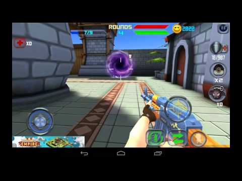 Hero Strike: Zombie Killer - мультяшный шутер на Android (обзор / review)