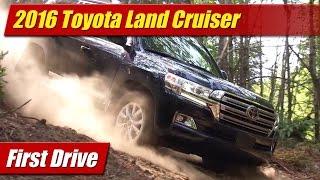 2016 Toyota Land Cruiser: First Drive