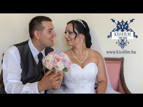 Kitti és Zsolt esküvője Kótajban a Borostyán étteremben