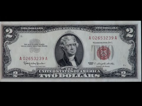 Are your $2 bills worth anything? clip from The Two Dollar Bill ...