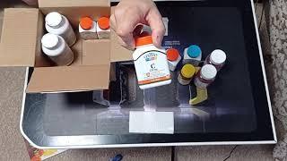 Витамины с iherb распаковка посылки.