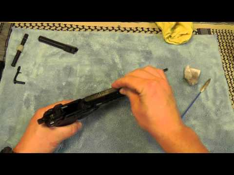 Cleaning a Heckler & Koch HK45