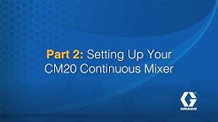 Part 2: Setting Up Your CM20 Continuous Mixer