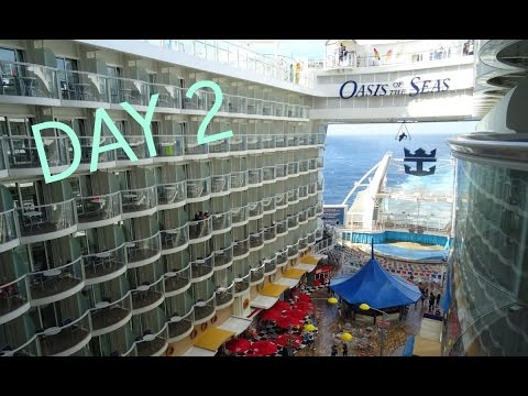 Oasis of the Seas Day 2: At Sea, CATS and Welcome Aboard!