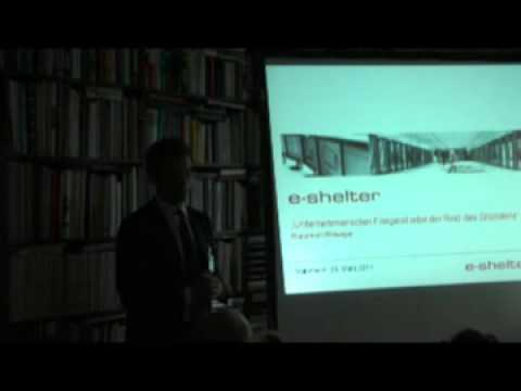 Founder Talk 6 (e-shelter GmbH & Co. KG) - Talk