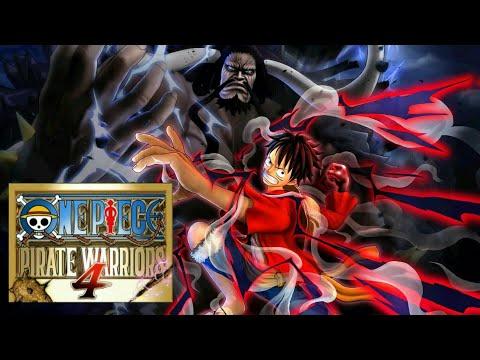One Piece Pirate Warriors 4 Indonesia - Luffy Gear 4 Snake Man