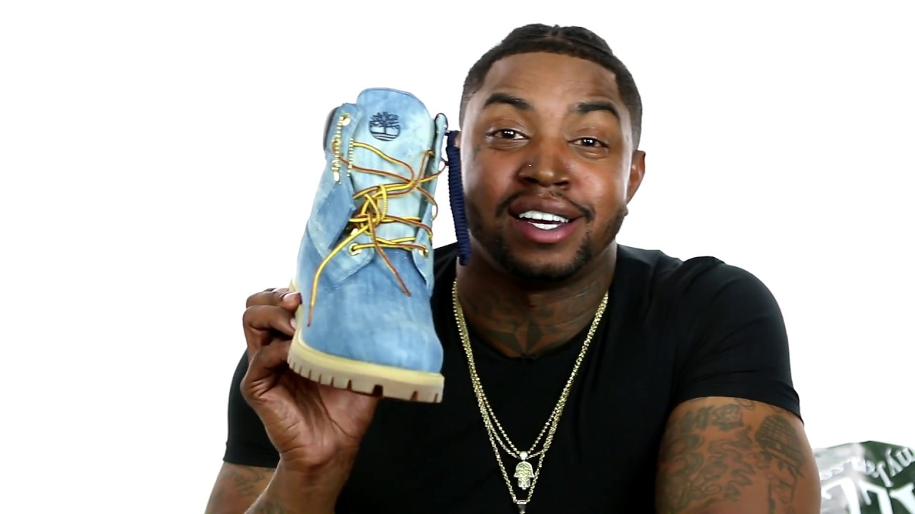 elegant shoes top-rated original hot-selling Timberland Denim Boot Presented by Jimmy Jazz and 21 Savage Unboxing by Lil  Scrappy
