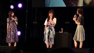 20180603 トーク後半(山本彩、古賀成美、三田麻央スペシャルステージ祭り#05)@横浜
