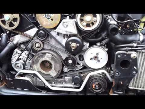 How To Replace Timing Belt Cambelt And Water Pump On 2 0
