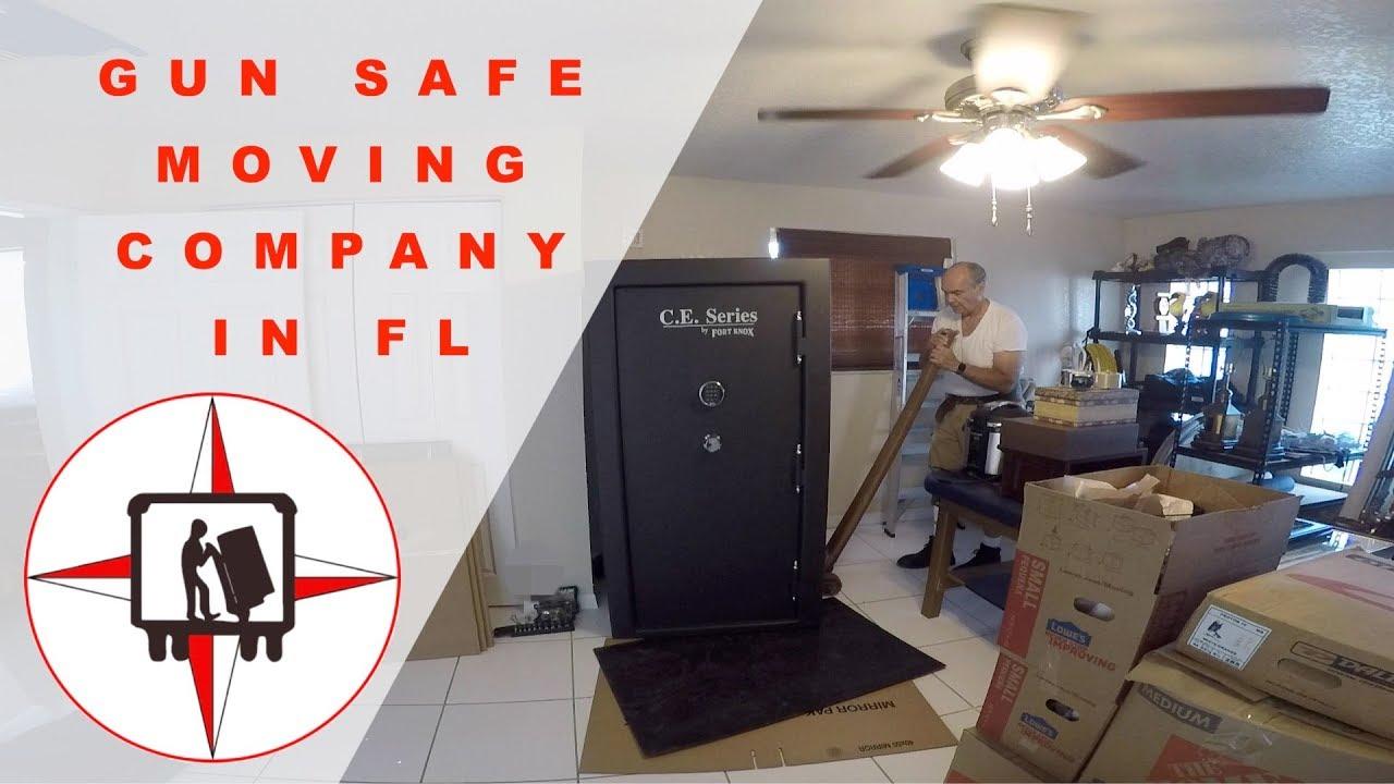 Gun safe moving videos