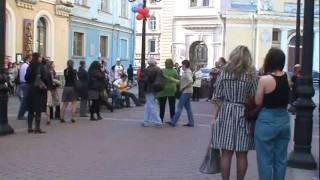ФЛЕШМОБ НА ДЕНЬ ПОБЕДЫ Смуглянка СПб