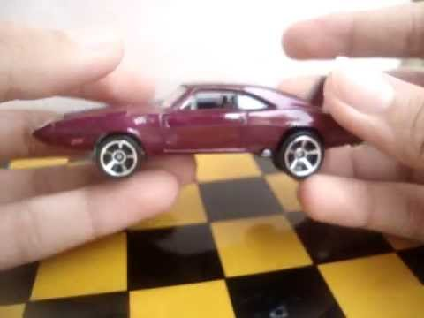 Hotwheels Fast And Furious 69 Dodge Charger Daytona Youtube