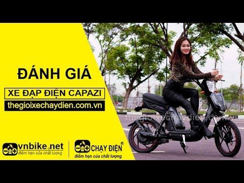 Đánh giá xe đạp điện Capazi