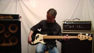 1973 Fender Precision Bass Demonstration/Review wi
