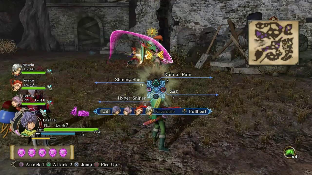 Dragon quest heroes 2 farming gold golden lions golden dragons dragon