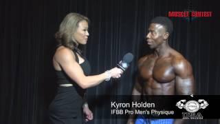 2017 NPC USA Interview Kyron Holden