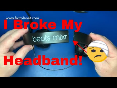 Beats Mixr Headband Replacement From Start To Finish.