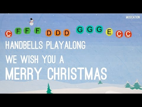 We Wish You a Merry Christmas - Handbells