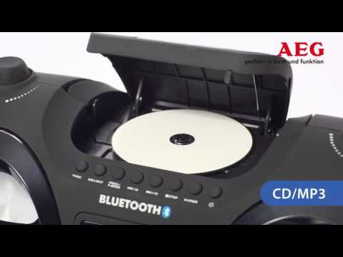 AEG SR 4359 BT Stereo Radio Soundbox CD MP3 mit Bluetooth