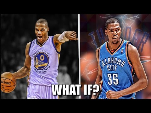 What If Russell Westbrook and Kevin Durant switched teams?