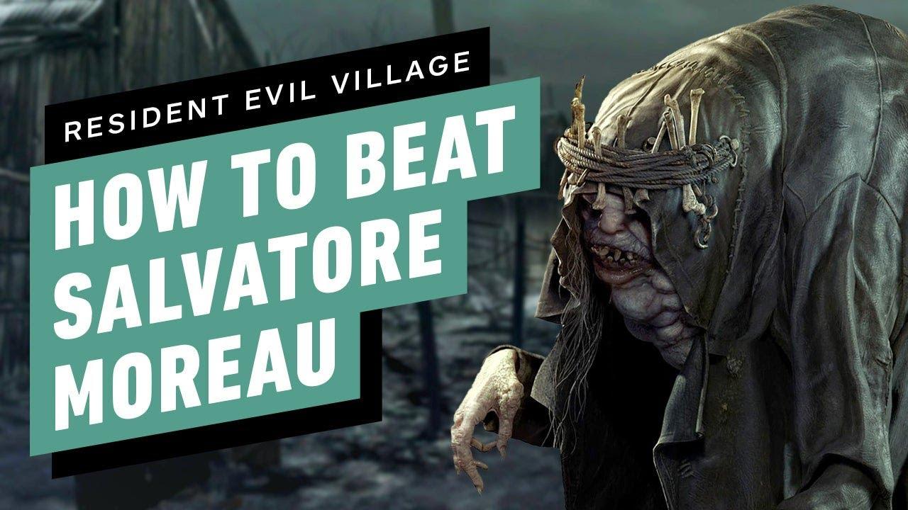 Resident Evil Village Walkthrough - Boss Fight: Salvatore Moreau (1080p/60FPS) No Commentary