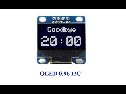 Flprog работа с дисплеем OLED 0.96 128X64 I2C (часть 1)