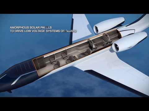 Amazing Windowless Concept Jet