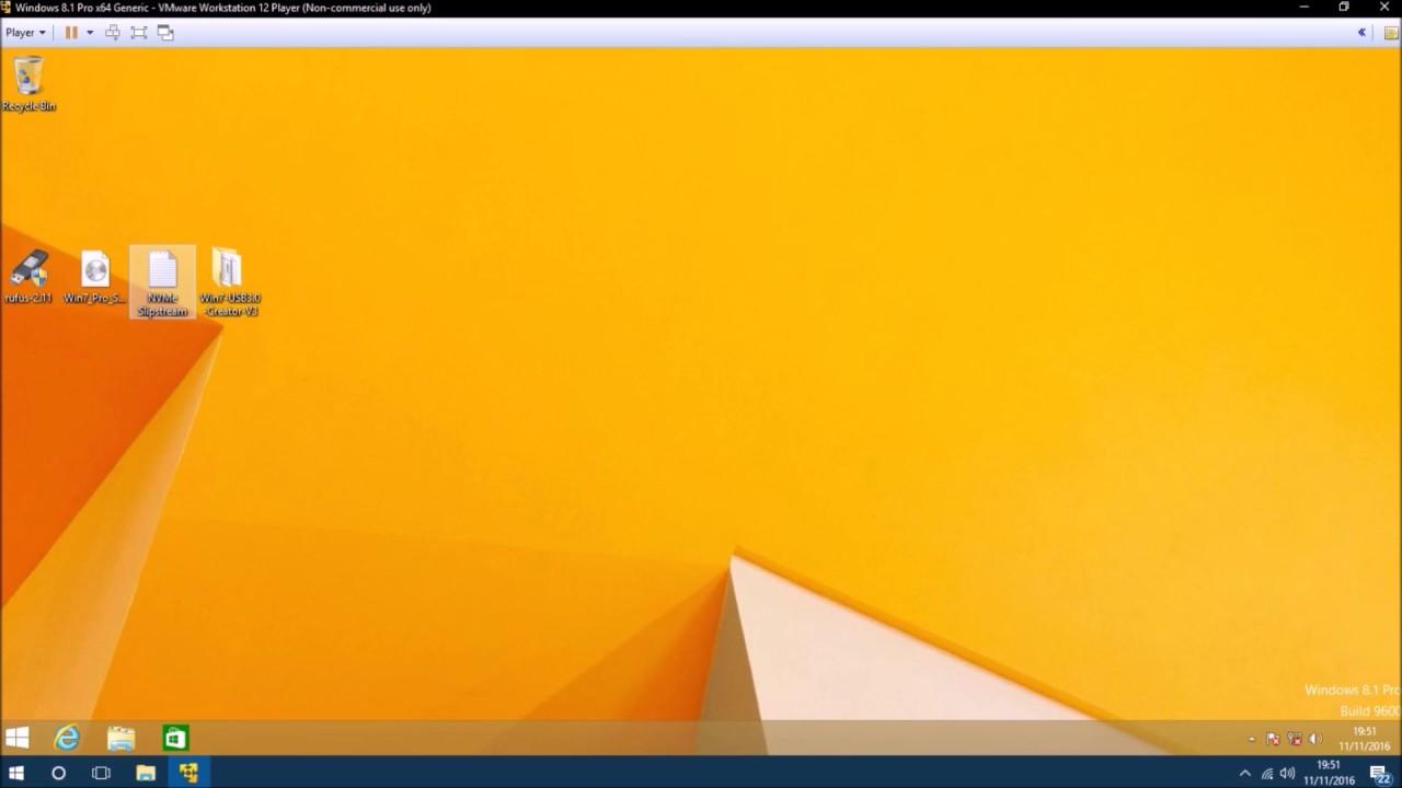 windows 7 installation usb stick uefi