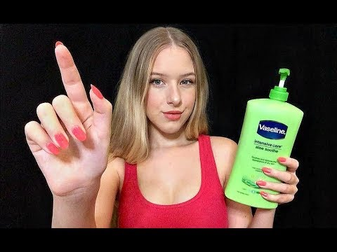 ASMR Lotion Sounds & Hand Movements