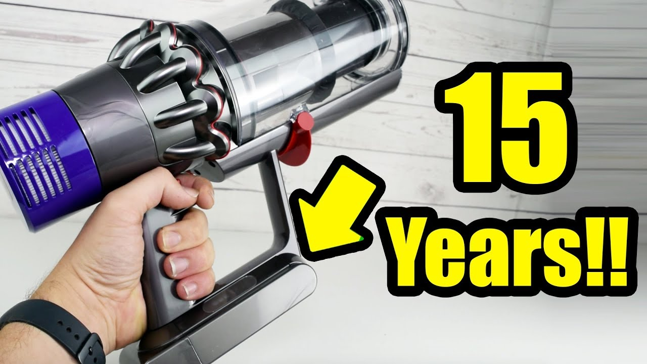 Dyson V10 Battery Replacement? - Dyson Says it Will Last 15 Years!!