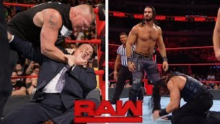 WWE Monday Night Raw 10th June 2019 - Seth Rollins Saves Roman reigns ! 4 Things Could Happen in RAW